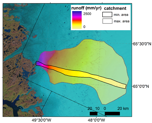 Isua_meltwater_runoff_estimate